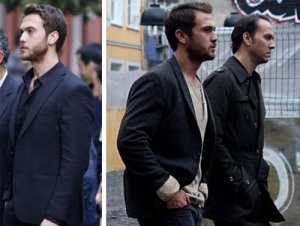 Çukur 2. Bölüm Yamaç Kıyafet Listesi yamaç siyah takım elbise yamaç ceket selim siyah trençkot