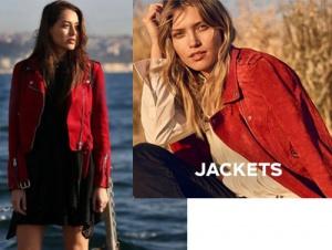 Çukur 2. bölüm Kıyafetleri Sena kırmızı süet ceket Vero Moda marka