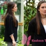 İstanbullu Gelin Son bölümde Begüm'ün giydiği siyah ceket Ekol marka.