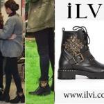 Fazilet Hanım ve Kızları HAzan'ın siyah botları İlvi marka