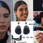 Fazilet Hanım ve Kızları Hazan Deniz Baysal siyah küpe siyah yüzük ve siyah kol takısı markaları Urban Queen
