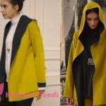 Hazan'ın giydiği sarı siyah ceket markası Miss Dalida İstanbul.