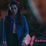 Kalp-Atışı 15. bölümde Esma'nın giydiği çiçek işlemeli kot ceket Mavi marka