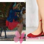 Kalp Atışı dizi kıyafetleri 17. bölüm Esma kirmizi ayakkabılari Lolas Heels