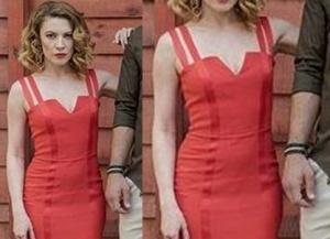 Meryem Dizi Kıyafetleri Derin kırmızı elbise markası açıklanacak