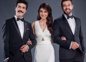 Meryem Dizi Tanıtımı Ayça Aysin Turan siyah elbise ADL marka.