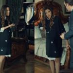 İstanbullu Gelin İpek siyah hamile elbisesi nerden