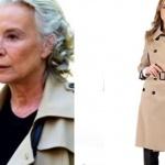 İstanbullu Gelin dizisinin önceki bölümlerinde Esma Sultan'ın giydiği krem rengi trençkot Ekol marka