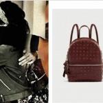 Burcu karakterinin Siyah sırt çantasının markası Zara