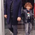 Dolunay Ferit siyah palto markası Chacharel Takım elbise Damat Ferit botlar Hotiç