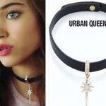 Fazilet Hanım Ve Kızları Ece ucu yıldız figürlü coker kolye Urban Queen marka