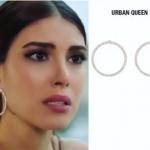 Fazilet Hanım ve Kızları Hazalın halka küpeleri nereden Hazal'ın taktığı Halka Küpeler Urban Queen marka