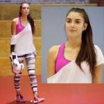 Fazilet Hanım ve Kızları Hazalın spor yaparken giydiği büstiyer ve tayt Kom marka