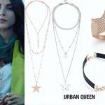 Fazilet Hanım ve Kızları Hazal yıldız kolye Hazal yıldız yüzük ve Hazal bileklik Urban Queen marka