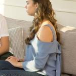 Fazilet Hanım ve Kızları Kıyafetleri 23. Bölüm Ece mavi bluz nereden