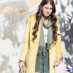 Fazilet Hanım ve Kızları Kıyafetleri 23. Bölüm Hazal yeşil etek ve sarı ceket nereden alınmış