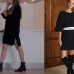 Fi dizisinin 2. Sezon,1.bölümünde, Duru'nun giydiği siyah triko elbise markasıNocturne