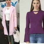 Kalp Atışı dizisinin son bölümünde Nazlının giydiği şerit yakalı bluz markasıLefonfiyatı ise 67,89₺'dir.