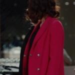 Kalp Atışı son bölümde Merve'nin giydiği kırmızı ceket nerden