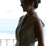 Oya Krem rengi elbise Rcut İstanbul marka