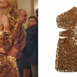 Pelin karakterinin giydiği Sarı elbisenin markası Selma Çilek.