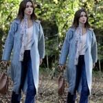 Siyah Beyaz Aşk 6. Bölüm Dizi Kıyafetleri Aslı bebek mavisi kaban Vekem Aslı mavi jean pantolon Network Aslı'nıngiydiği ekru bluz ne marka? Aslı'nın kullandığı çiçek desenli renkli fular