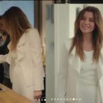 Ufak Tefek Cinayetler 4. Bölüm Oya beyaz ceket R.Cut İstanbul marka