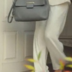 Ufak Tefek Cinayetler Gökçe Bahadır Oya gri kol çantası Turla marka