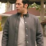 Ufak Tefek Cinayetler Serhan gri spor ceket Network marka