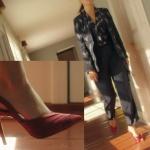 Ufak Tefek Cinayetler son bölümde Merve'nin giydiği kırmızı topuklu ayakkabı