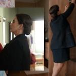 Çukur Dizi Kıyafetleri 8. Bölüm Perihan Savaş Çukur Sultan Koçovalı siyah yelek siyah elbise markaları Ekol