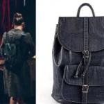 Çukur Dizisi 7.bölümde Sena karakterinin hakiki deri sırt çantasıPinky Lola Design marka.