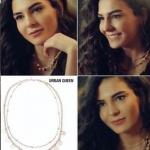İstanbullu Gelin 30. Bölümde Burcu'nun taktığı kolye Urban Queen marka