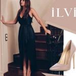 Siyah İnci Hazal Kıyafetleri HAzalın ten rengi stilettoları İlvi marka