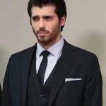 Can Yaman / Ferit Siyah Takım elbise Damat marka