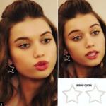 Fazilet Hanım ve Kızları Ece yıldız küpeler Urban Queen marka