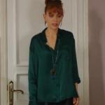 Fazilet Hanım ve Kızları Yasemin yeşil saten gömlek nereden?