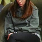 Nazlı'nın 26. bölümde giydiği griSweatshirt Adil Işık marka. Nazlı siyah tayt Penti