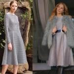 Ufak Tefek Cinayetler Pelin çizgili elbise markası Meltem Özbek