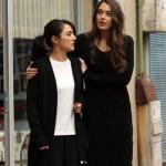 Çukur dizisi Senanın giydiği siyah triko elbise Mudo marka