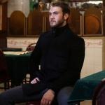 Çukur kıyafetleri 15. Bölüm Yamaç siyah kaban markası Pierre Cardin