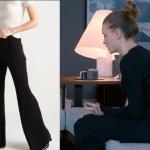 Fi Çi 8. Bölüm Duru siyah triko panytolonu nereden bulabilirim. Pantolonun markası Rue