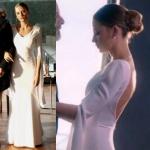 Fi Çi Duru Kıyafetleri Durunun nikah için giydiği beyaz elbise Douze marka