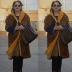 Gülizar dizi kıyafetleri 1. ve 2. bölümde Suzan'ın giydiği kahve rengi kabanın markası Mango