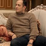 Jet Sosyete Kıyafetleri Ozan ın omuzları düğmeli kahverengi triko kazağı nereden