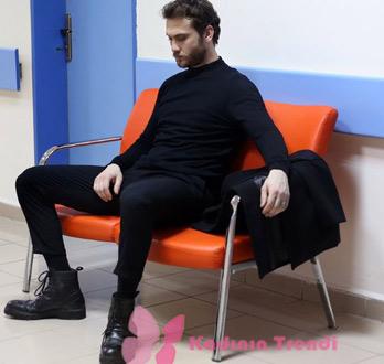Çukur Yamaç siyah ayakkabılar Derimod marka
