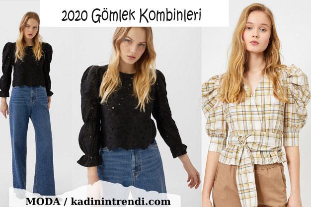 2020 Kadın Gömlek Kombinleri