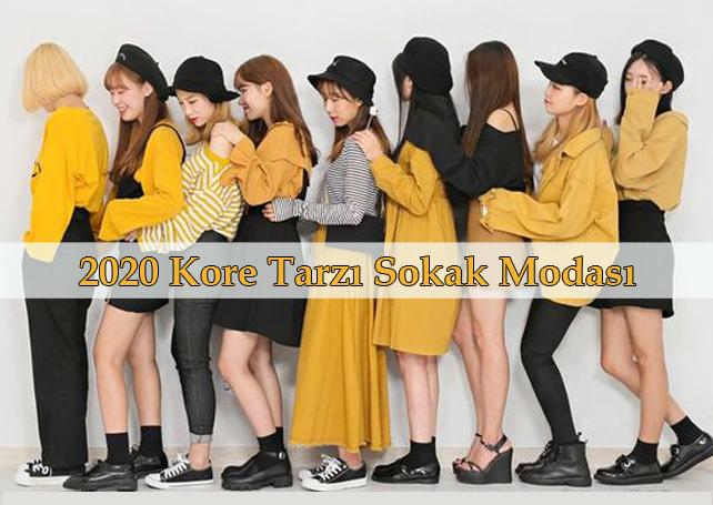 2020 Kore Tarzı Sokak Modası